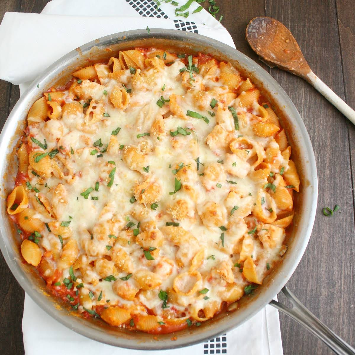 Chicken Parmesan Baked Pasta Recipe
