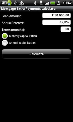 Mortgage Extra calculator Lite