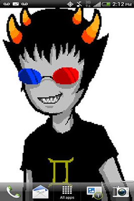 Sollux Captor Live Wallpaper - screenshot