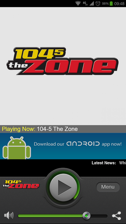 104-5 The Zone - screenshot