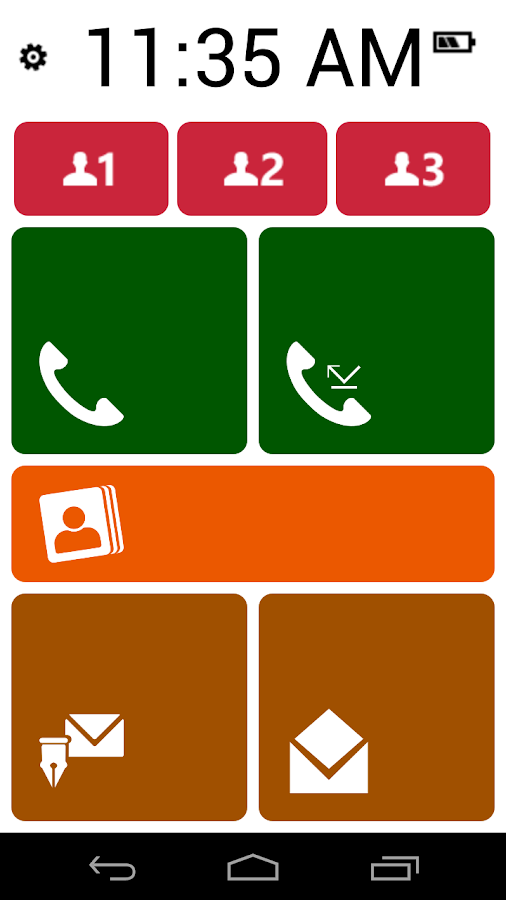 Phonotto Simple Phone Seniors - screenshot