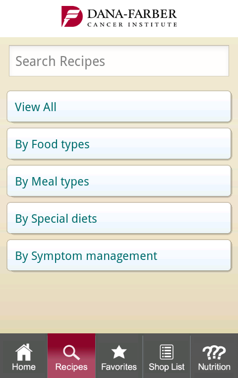 Ask The Nutritionist - screenshot