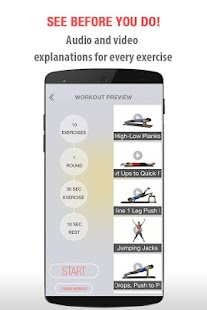 FitSpark Workout Guide Trainer- screenshot thumbnail