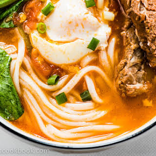 Tomato Noodle Soup - The Ultimate Comfort Food.