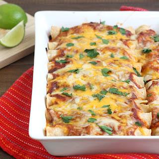 Chicken Enchiladas With Red Sauce Recipes.
