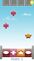 Screenshot of DaffyDrop - a fast Puzzle Game
