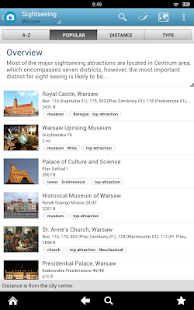 Warsaw Travel Guide - screenshot thumbnail