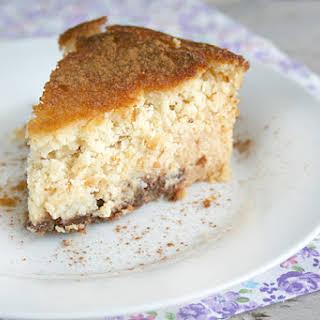Gluten Free Coconut Custard Cake.
