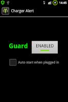 Screenshot of Charger Alert