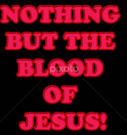 Black Jesus Quotes Alluring Nothing But The Blood Of Jesus  Quotes & Sentences  Typography