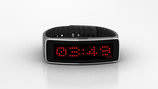 LED Dot Clock For Gear Fit