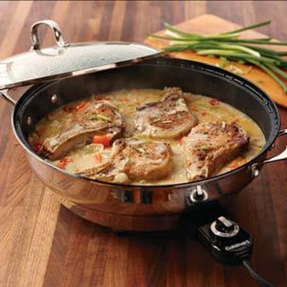 Smothered Pork Chops.