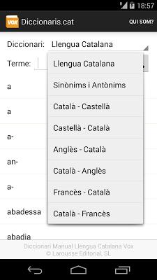 Diccionaris.cat - screenshot