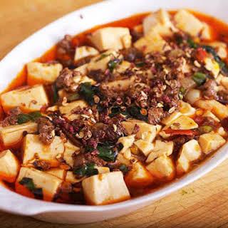Mapo Dofu (Tofu) with Ramps.