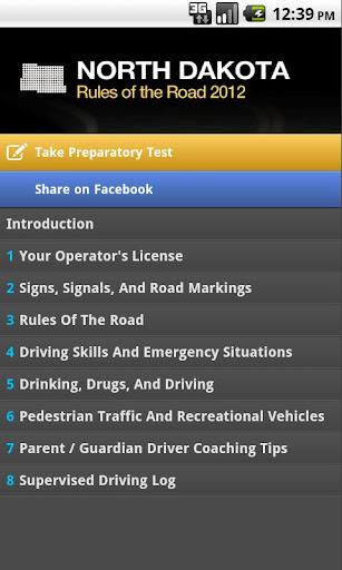 North Dakota Rules of the Road