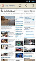Screenshot of New Zealand Newspapers
