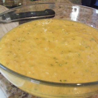 Curried Charentais Melon Gazpacho