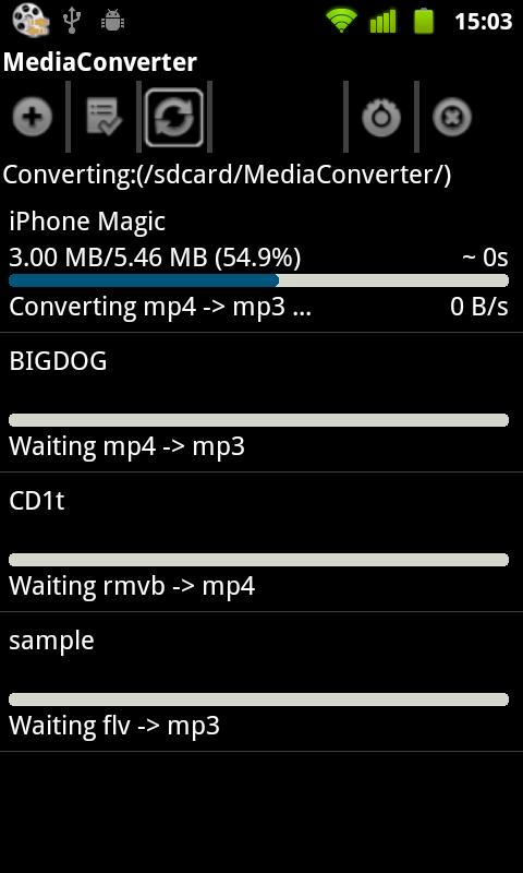 Mp3 Media Converter- screenshot