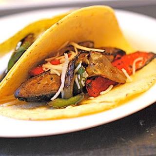 Spicy Portabello Mushroom Tacos.