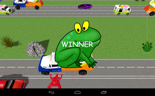 Frog Race 3D - screenshot thumbnail