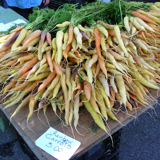 Curried Carrots Giulia with Bulgur Pilaf