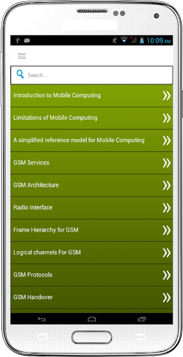 Mobile Computing Engineering