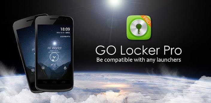 GO Locker Pro - блокировка экрана для Андроид