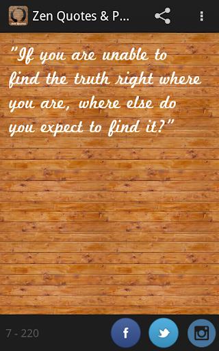 Zen Quotes Proverbs Pro 禪