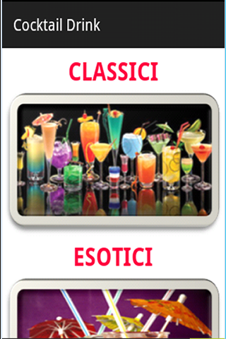 Cocktail Mania Drink Ricette