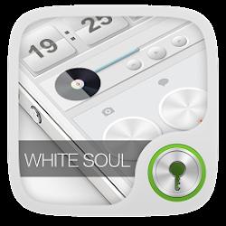 White Soul GO Locker Theme
