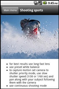 DSLR Camera - Photo Guide- screenshot thumbnail