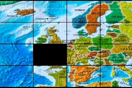 The world map puzzle android apps on google play the world map puzzle screenshot thumbnail gumiabroncs Images