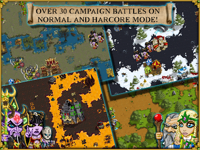 Warlords RTS: Strategy Game Screenshot 12