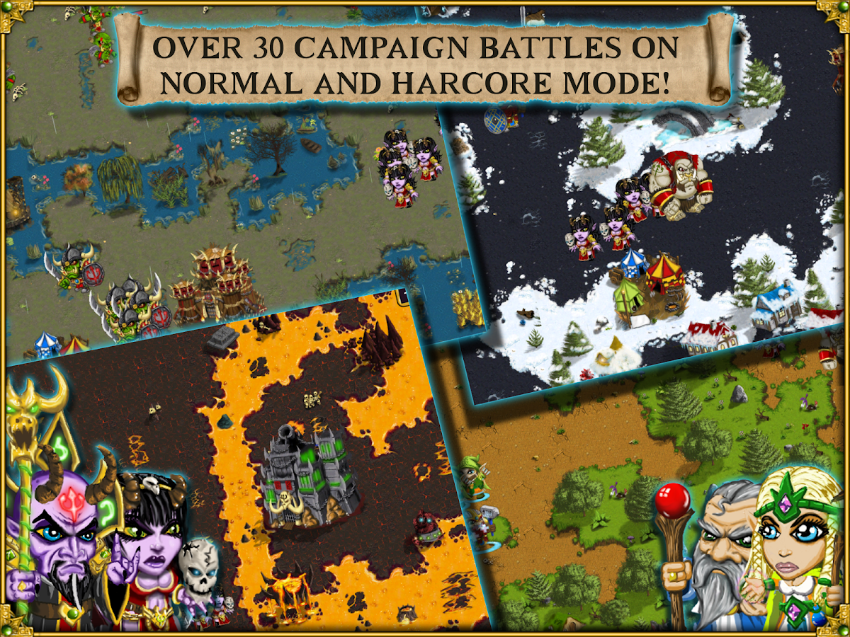 Warlords RTS: Strategy Game - screenshot