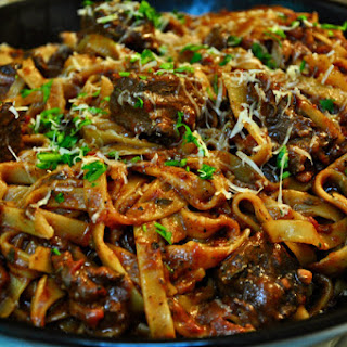 Braised Beef Pasta