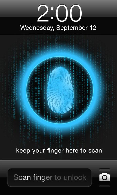 MIOS7 FingerPrint Lock - screenshot