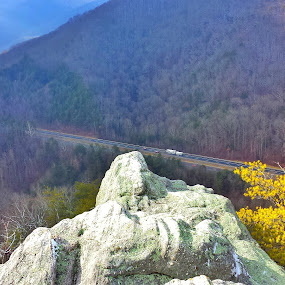 Tennessee Road by Dustin VanHoose - Transportation Roads ( vistas, mountains, views, hiking, roads )