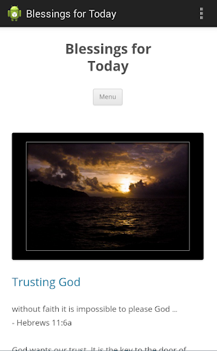 玩生活App|Blessings for Today免費|APP試玩