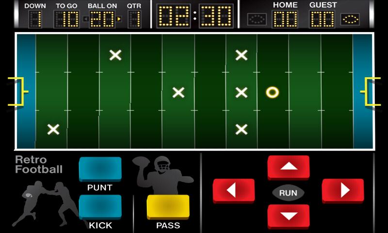 Retro Football - screenshot