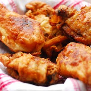Great-Grandma Gibson's Fried Chicken.