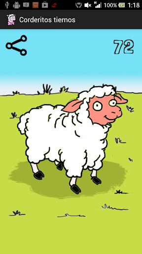 可愛い羊たち!