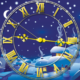 Christmas Village - Watch Face