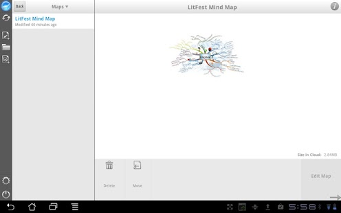 iMindMap HD- screenshot thumbnail