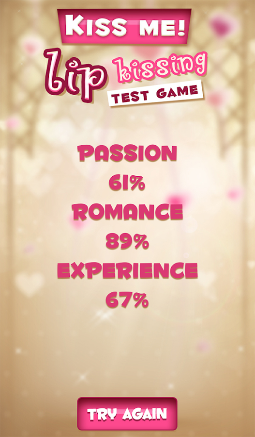 Kiss Me! Lip Kissing Test Game- screenshot