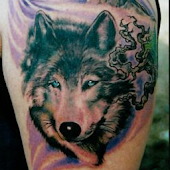 Tattoo Wolves Images