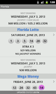 Lotto Results - Lottery Games - screenshot thumbnail