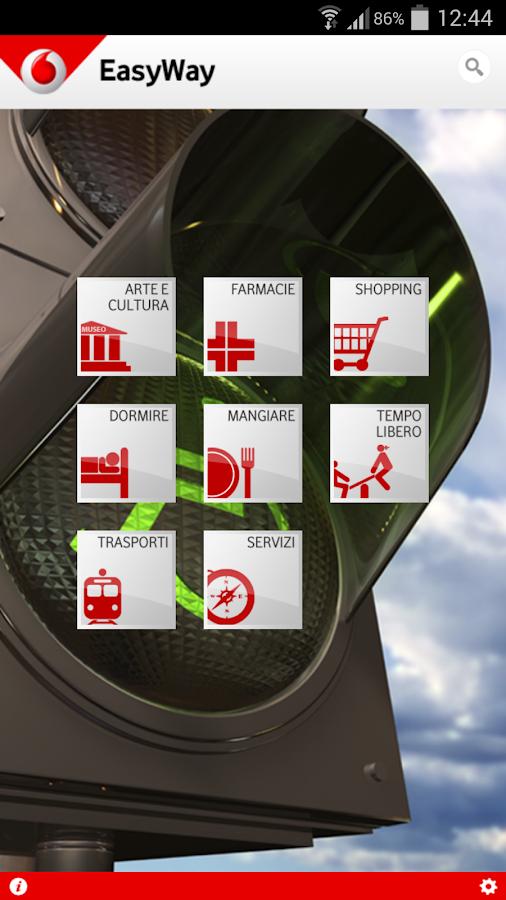 Vodafone EasyWay - screenshot