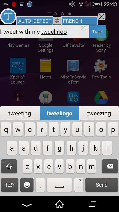 Tweelingo- screenshot