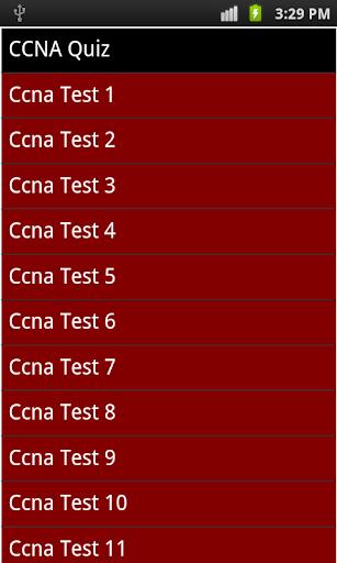 best ccna quiz 2014