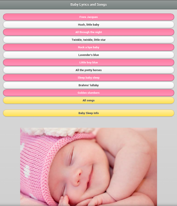 Lyric lines song lyrics : Baby Lyrics & Songs - Android Apps on Google Play